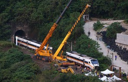 Bắt giữ nghi phạm vụ tai nạn tàu hỏa tại Đài Loan (Trung Quốc)