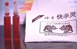Tràn lan thuốc diệt chuột cực độc: Giá siêu rẻ nhưng hậu quả cực đắt