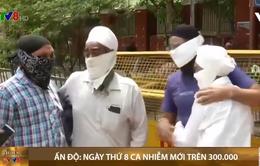 Ấn Độ: Ngày thứ 8 ca nhiễm mới trên 300.000 người