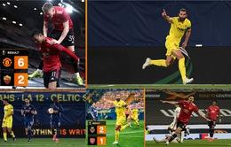 Kết quả bán kết lượt đi UEFA Europa League: Man Utd 6-2 AS Roma, Villarreal 2-1 Arsenal