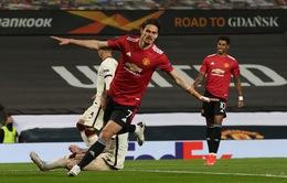 Ngược dòng ngoạn mục, Man Utd đánh bại AS Roma để đặt 1 chân vào chung kết Europa League