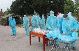 Hà Nam: Thiết lập vùng cách ly y tế 28 ngày với thôn có 5 ca mắc COVID-19