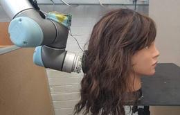 Đến chải tóc cũng đã có robot hỗ trợ
