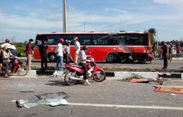 Bình Phước: Tài xế xe tải tử vong trong tai nạn với xe khách
