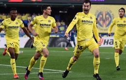 Arsenal thất bại trước Villarreal tại bán kết lượt đi Europa League