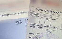 New Zealand cảnh báo về giấy chứng nhận âm tính với SARS-CoV-2 giả