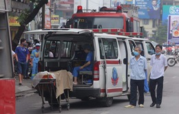 Hỗ trợ gia đình các nạn nhân trong vụ cháy ở phố Tôn Đức Thắng