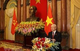 Bàn giao công tác giữa Tổng Bí thư và Chủ tịch nước