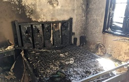 Cháy nhà tại Đà Lạt, cụ bà 80 tuổi thoát chết