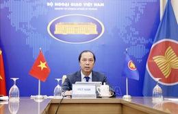 ASEAN và Anh bàn ứng phó COVID-19, phục hồi kinh tế bền vững