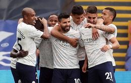 Crystal Palace 0-2 Man City: Aguero tỏa sáng, Man City tiến sát ngôi vô địch