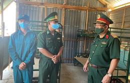 Bộ Quốc phòng kiểm tra phòng, chống dịch tại biên giới