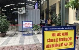 Bệnh viện Phụ sản Trung ương an toàn khi trường hợp F1 âm tính lần 1 với SARS-CoV-2