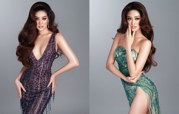 Khánh Vân hé lộ bộ ảnh dạ hội trước thềm Bán kết Miss Universe