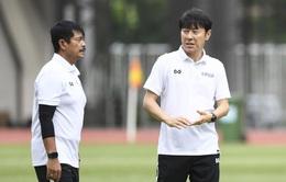 HLV Shin Tae-young lo ngại vấn đề thể lực của các cầu thủ Indonesia