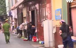 Hà Nội giải toả chợ cóc, chợ tạm phòng chống dịch COVID-19