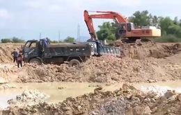 Khánh Hòa: Đào đất bán, hủy hoại hàng chục héc ta đất lúa