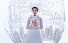 Khánh Vân sẵn sàng trình diễn trang phục dân tộc nặng 30kg tại Miss Universe