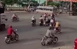 Ô tô gây tai nạn thương tâm do phóng nhanh tại nút giao