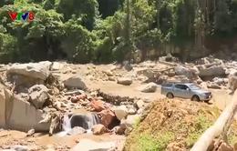 Quảng Nam: Chưa thể khôi phục giao thông lên vùng sạt lở