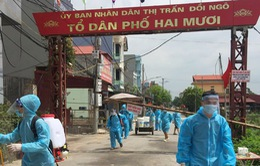 Bắc Giang điều chỉnh giãn cách xã hội đối với 2 huyện Tân Yên và Lục Nam