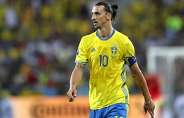 Zlatan Ibrahimovic sẽ vắng mặt tại UEFA EURO 2020