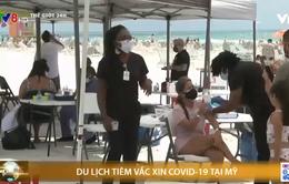 Nhiều thành phố tại Mỹ giới thiệu tour du lịch vaccine