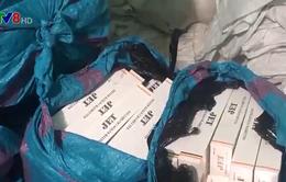 Quảng Ngãi: Bắt vụ buôn lậu thuốc là số lượng lớn