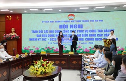 Hà Nội: Tiếp nhận đăng ký, ủng hộ hơn 260 tỷ đồng để phòng chống dịch COVID-19