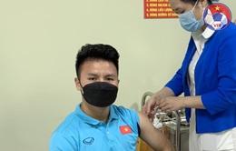 Các cầu thủ ĐT Việt Nam hoàn thành tiêm mũi 2 vắc xin phòng COVID-19
