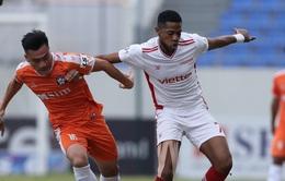 Kết quả, BXH vòng 12 LS V.League 1-2021: CLB Viettel rút ngắn khoảng cách với ngôi đầu