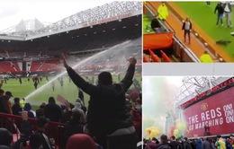 """CĐV náo loạn sân Old Trafford, đại chiến """"MU - Liverpool"""" nguy cơ bị hoãn"""