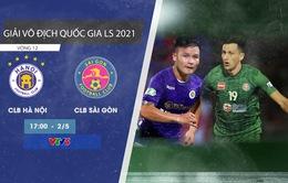 CLB Hà Nội - CLB Sài Gòn: Mục tiêu 3 điểm! (17h00 trên VTV5)