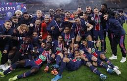 Mbappe toả sáng giúp PSG giành Cúp Quốc gia Pháp
