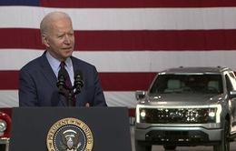 Tổng thống Biden: Không để Trung Quốc thắng trong cuộc đua xe điện