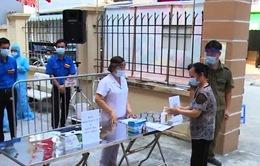 Diễn tập các tình huống ứng phó dịch COVID-19 trong phục vụ bầu cử