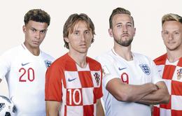 Lịch thi đấu bảng D UEFA EURO 2020: Ứng viên ĐT Anh và á quân thế giới Croatia