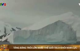 Tảng băng trôi lớn nhất thế giới tách khỏi Nam Cực