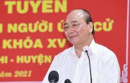 Chủ tịch nước: Làm hết sức để khai thác hết tiềm năng, lợi thế của Củ Chi và Hóc Môn