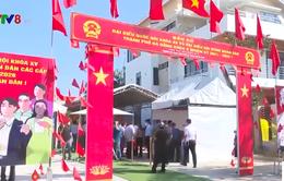 Bí thư Thành ủy Đà Nẵng kiểm tra công tác bầu cử tại quận Cẩm Lệ