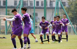 HLV Park Hang Seo nhồi thể lực và rèn sút phạt cho ĐT Việt Nam