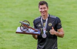 Lewandowski giành Chiếc giày vàng châu Âu đầu tiên trong sự nghiệp