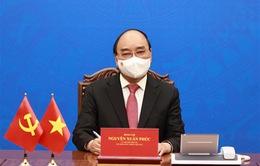Chủ tịch nước Nguyễn Xuân Phúc điện đàm với Tổng Bí thư, Chủ tịch nước Trung Quốc Tập Cận Bình