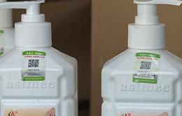 Phát hiện lô dung dịch sát khuẩn rửa tay giả