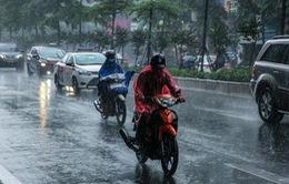 Rãnh áp thấp tiếp tục gây mưa dông mạnh khu vực Nam Trung Bộ và Nam Bộ