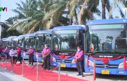 """Xe bus """"phiên bản mới"""" hỗ trợ tích cực phòng chống dịch"""