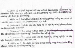 """Bộ GD&ĐT giải thích về văn bản """"thí điểm thử ma túy cho học sinh, sinh viên"""""""