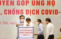 Văn phòng Quốc hội quyên góp 350 triệu đồng ủng hộ phòng, chống COVID-19