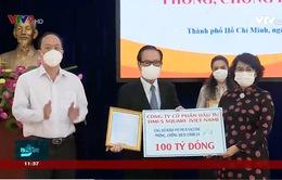 TP.HCM: Tiếp nhận hơn 2.000 tỷ đồng ủng hộ chống dịch Covid-19