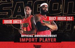 Saigon Heat công bố ngoại binh cho mùa giải 2021